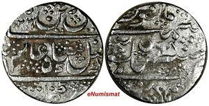 India-Princely States MYSORE Shah Alam II Silver 1231//98 Rupee C# 207 (17 407)