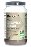 Slimming Shake for Vegans *Dairy free * Delicious Chocolate Flavour *15 Servings