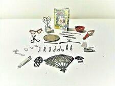 "Vanity Accessories Rare Fun Mini 1/12"" Scale Doll House Miniatures"