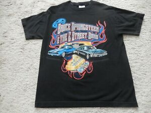 Bruce Springsteen & The Street Band:T-Shirt World Tour2003 M TwoSidedPrint
