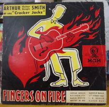 ARTHUR SMITH ET SES CRACKER JACKS FINGERS ON FIRE 25 CM FRENCH LP MGM