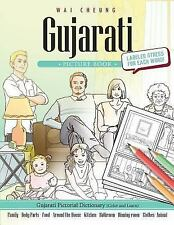 Gujarati Picture Book: Gujarati Pictorial Dictionary (Color and Learn) by Wai...