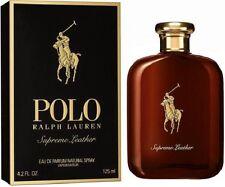Ralph Lauren Polo Supreme Leather 4.2 oz / 125 ml Eau De Parfum EDP, NEW, SEALED