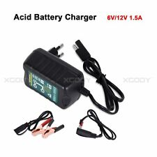 Smart Car Battery Charger Maintainer Tender Trickle Automatic 6V 12V Motorcycle