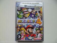 Mario Party 4 (Nintendo GameCube, 2003) Italiano Versione nuovo e sigillato