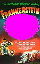 Your Picture Here Frankenstein Monster Photo Horror Movie Poster Picture Card UA
