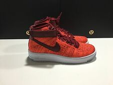 WOMENS NIKE AF1 AIR FORCE 1 FLYKNIT 818018-800 SIZE 8 NO LID NEW $175.00