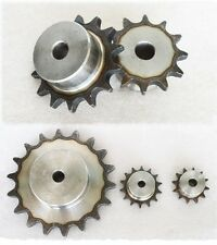 """3/8"""" 06B  #35 Roller Chain Sprocket 17/18/19/20/21/22/23/24T Pitch 9.525mm"""