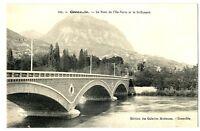 CPA 38 Isère Grenoble Le Pont de l'Ile Verte et le St-Eynard