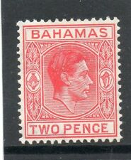 Mint Hinged George VI (1936-1952) Bahamas Stamps (Pre-1973)
