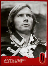 HAMMER HORROR - Series Two - Card #28 - Captain Kronos: Vampire Hunter