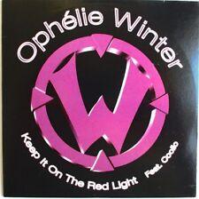 "OPHÉLIE WINTER - CD SINGLE PROMO ""KEEP IT ON THE RED LIGHT"""