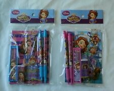 12 Disney Sofia The First Stationery Set Child 3+ School Party Favor Bag Fillers