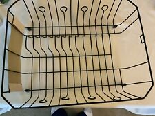 Dish Drainer, Black Wire, Large