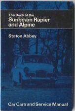Sunbeam Estoque & Alpine todos los modelos hasta 1971 Pub. Manual práctico por pitmans