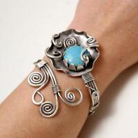Handmade Turquoise Cuff Bracelet