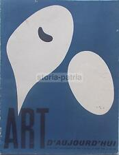 ARTE ASTRATTA_ASTRATTISMO EUROPEO_GERMANIA_AMBURGO_BLAUE REITER_JEAN ARP_1953