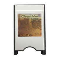 PCMCIA Compact Flash CF Card Reader Adapter for Laptop T5K2