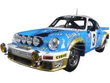 Porsche 911 # 3 Ganador Rally De Monte Carlo 1978 J.-P Nicolas 1/18 por chispa 18s095