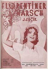 Julius Fucik Florentiner Marsch Concert Band Op.214 Sheet Music Book PARTS