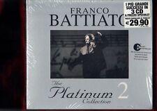 FRANCO BATTIATO-THE PLATINUM COLLECTION VOL.2 BOX 3 CD NUOVO SIGILLATO