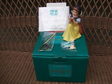 WDCC Snow White Won't You Smile for Me with Pin Collectors Society NEW MIB