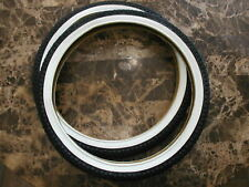 BMX Old Mid School NOS Freestyle DURO COMP ll Style 20 x 1.95 Tires White Wall