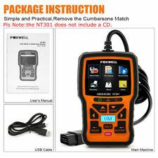 Foxwell NT301 OBD OBD2 Engine Universal Car Code Reader Diagnostic Scanner