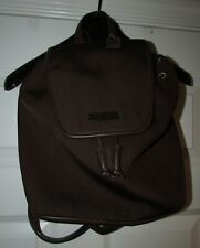Coach Brown Fabric Backpack C82-6205