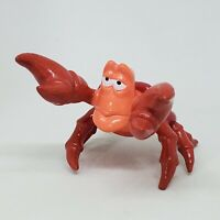 Vintage Disney The Little Mermaid Sebastian PVC Figure Cake Topper Crab