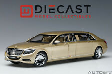 AUTOART 76298 MERCEDES-MAYBACH S 600 PULLMAN (GOLD) 1:18TH SCALE