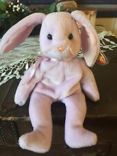Rare mint! Ty Beanie Babies Floppity Bunny 1996 retired with swing tag errors!