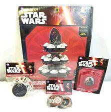 Wilton Star Wars Cupcake Set 1 Stand 50 Baking Cups 24 Fun Pix 1 Candle New