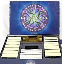 Who Wants To Be A Millionaire Board Game Pressman ABC TV Game Show Great Cond