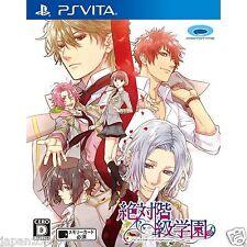 Zettai Kaikyu Gakuen PS Vita SONY JAPANESE NEW JAPANZON