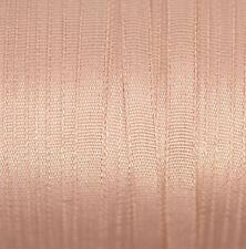 "Silk Ribbon 4mm (1/8"") Cardmaking & Scrapbooking - 3 mtr Beige 102"