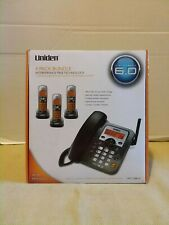 Uniden DECT6.0 Digital Phone Answering System DECT1588-3T - corded,cordless NEW