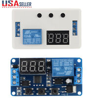DC 12V LED Automation Delay Timer Control Switch Relay Module PCB US STOCK