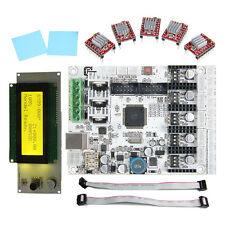 3D Printer Kits GT2560 Controller motherboard+LCD 2004+5pcs A4988 Stepper Driver