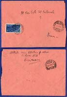 SP 458 - 24.07.1945 – LUOGOTENENZA DA PIAZZA ARMERINA AEREA USO ISOLATO.