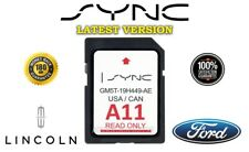 LATEST FORD LINCOLN A11 MAP UPDATE NAVIGATION GPS SD CARD SYNC2 USA / CANADA
