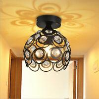 Vintage Industrial Ceiling Light Pendant Lamp Restaurant Cafe Hanging Iron Metal