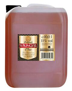 Behn Wikinger Met Honigwein 11%  10 l Liter Kanister Winter Festival