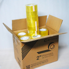 Airndefense 2 36 R 24 30 Rolls Carton Box Sealing Packing Tape 2 Mil 100yd