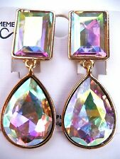 Clips Earrings Celebrity Inspired Angelina Jolie Red Carpet Look Long pageant