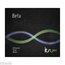 Itsu Sync Beta Binaural Beats CD - Improve mood & Studying, Reduce Depression