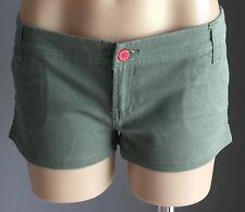 Retro DOTTI Casual Khaki Short Shorts Size 10