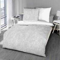 Kaeppel Biber Bettwäsche Texture 80x80 + 135x200 oder 155x220 cm Hammerpreis!