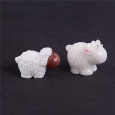 2x Sheep Gardens Decors Moss Miniature/Terrarium DIY Accessories Dollhouose YJ