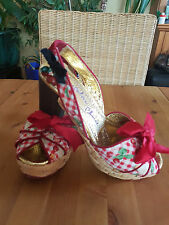 💜❤ Irregular Choice Sandalen, Rockabilly, Größe 39 Neuw. 💜❤